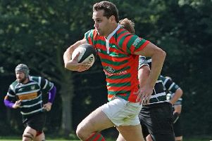 Will Pridgeon began the new season with two tries at promotion-chasing Dronfield. Picture: Jon Staves EMN-190916-130843002