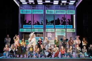 The full cast of Everybody's Talking About Jamie. Picture: Matt Crockett