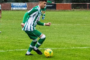 Kaleem Haitham scored both City's goals at Sevenoaks / Picture by Daniel Harker