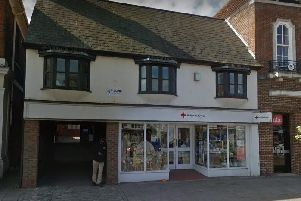 British Red Cross store in Berkhamsted