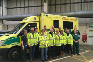 Eleven new community first responders (CFRs) have completed their initial training
