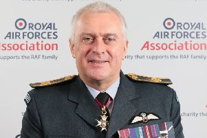Air Marshal Sir Baz North, President of the RAF Association. EMN-201102-150731001