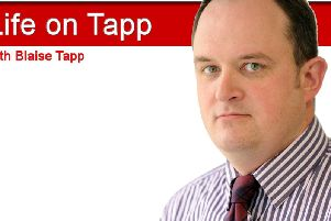 Blaise Tapp is embracing family friendly working-hours