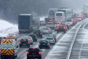 Drivers face many challenges during winter