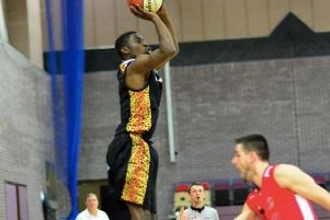 Worthing Thunder guard Ishmael Fontaine