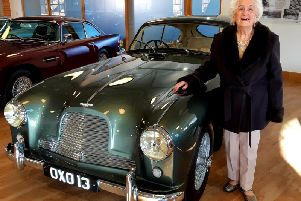 Beryl at the showroom