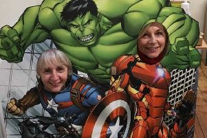 Superheroes at Lincoln Cathedral EMN-190215-163038001