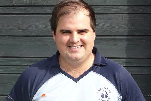 Jon Meredith was South Saxons' man of the match in the 3-2 loss away to Folkestone seconds