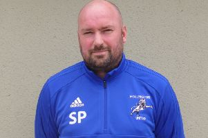 Hollington United Football Club first team manager Scott Price