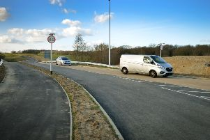 Opening of the North Bexhill Access Road