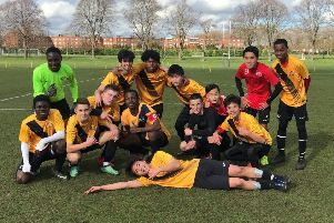 The Buckswood School football team which is through to the final of the Independent Schools Football Association U16 Shield