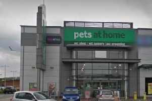 Pets at home, Newtownabbey. Pic by Google.