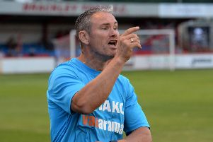 Brackley Town manager Kevin Wilkin