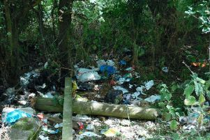 Fly-tipping at Kensworth Quarry