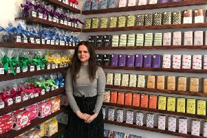 Paulina Filar, one of the directors of Cocoloco Chocolate Stores