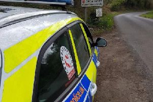 Police in Crowhurst. Photo: Rother Police/Twitter