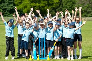 Hands up who's going to Belvoir Bees kwik cricket EMN-190904-111838002