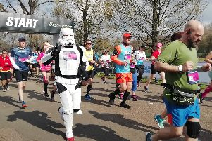 Runners from this year's Brighton Marathon