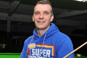 Mark Davis is through to the final round of the World Championship qualifiers