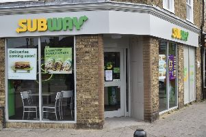Subway in Whittlesey on Tuesday