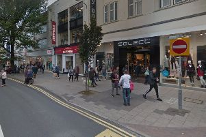 Select in Western Road, Brighton, has gone into adminstration. Image courtesy of Google