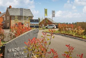 The development was openedearlier this year by the Duke of Richmondand, once complete, will feature 300 new homes with a choice of two, three and four bedroom properties. Photo: Barratt Homes Developments