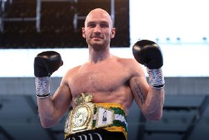 Steven Ward is out to impress at Ulster Hall tomorrow night