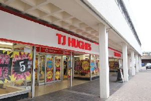 The former TJ Hughes store closed eight years ago