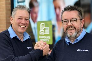 Fastsigns' co-owners Richard Towers and Paul Robinson.