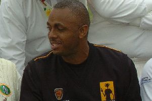 Test cricket legend Courtney Walsh will turn his arm over at Knipton EMN-190626-131712002