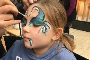 Face painting will be one of many activities