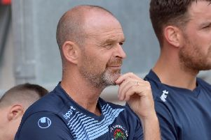 Institute manager ohn Quigg feels their game at Coleraine on Saturday is perfect for his players.