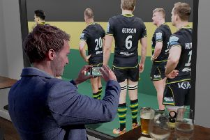 Saints have released images of how the Tunnel Club will look (pictures: Northampton Saints)