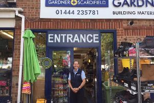 Nicola is the new manager of Gardner and Scardifield's Burgess Hill store