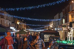 Bexhill Christmas lights switch-on ceremony 2017. Photo by Frank Copper. SUS-170212-121858001