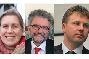 Julia Hilton of the Green Party, Labour's Peter Chowney and Liberal Democrats' Nick Perry will be signing a letter to Hastings and Rye MP Amber Rudd on Saturday