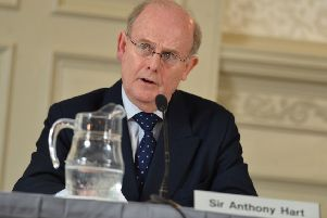 Retired High Court judge Sir Anthony Hart's HIA enquiry, the last of seven into Kincora, was a proper investigation whose extensive report and full evidence transcripts are online. The late judge saw all the PRONI files. He reported there was no collusion in abuse by the authorities and that criminality was limited to the three men jailed in 1981(Colm Lenaghan/Pacemaker Press)