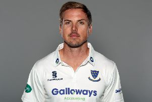 Stiaan van Zyl posted his sixth 50 of the season / Picture: Getty Images