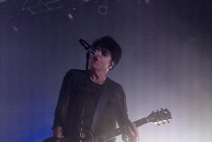 Gary Numan on stage at the De La Warr Pavilion, September 23