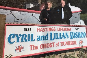 Hastings lifeboat couple from Kent SUS-190210-131213001