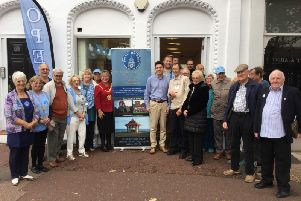 MP Huw Merriman and mayor Cllr Kathy Harmer were both in attendance at the launch of the new hub. SUS-190810-172205001