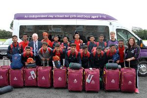 Shoreham College welcomed 15 boys from the Mumbai slums as part of the OSCAR Foundation U17 Boys' UK Tour