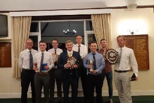 Bexhill Cricket Club's End of Season Awards Night. Photo from Adam Smith.