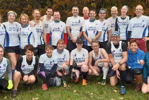 The Striders squad at Whitwick EMN-191119-165427002