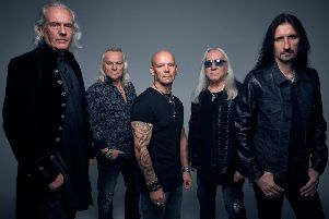 Uriah Heep. Photo by Richard Stow