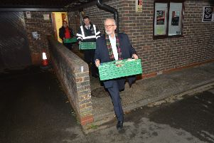 Jeremy Corbyn visits Surviving the Streets in Hastings