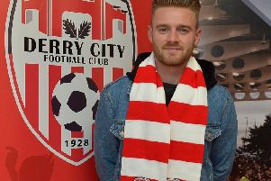 Derry City's new signing, Conor Clifford is hungry for success at Brandywell.