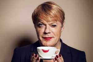 Eddie Izzard. Photograph by Amanda Searle