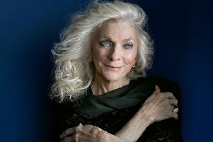 Judy Collins. Photograph by Brad Trent