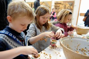Weald and Downland half term activities. Photo by Kate Shemilt